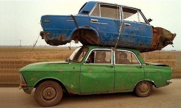 Romanya'da yaşayan insanların arabalarını çok sevdiğini kanıtlayan 16 fotoğraf - Page 1