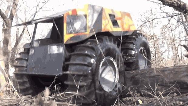 Rus mühendisten engel tanımayan canavar: Sherp ATV - Page 1