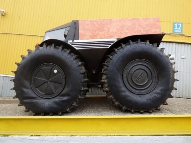 Rus mühendisten engel tanımayan canavar: Sherp ATV - Page 4