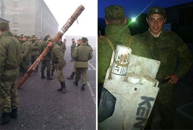 Rus ordusunda sıra dışı ceza yöntemleri! - Page 2