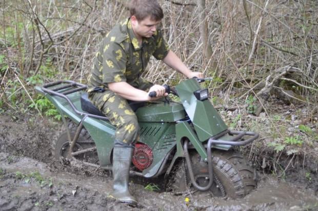 Ruslar katlanabilir motorsiklet yaptı - Page 3