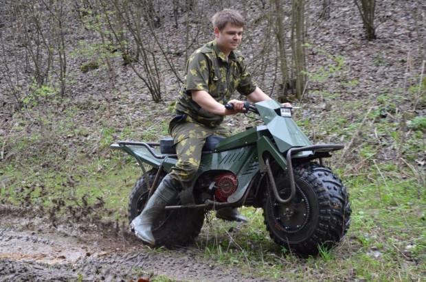 Ruslar katlanabilir motorsiklet yaptı - Page 4