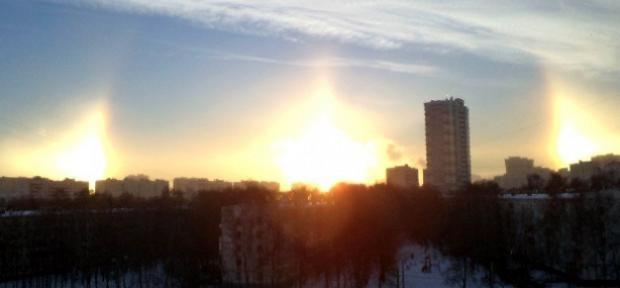 Rusya'da görülen 3 Güneş korkuttu - Page 1