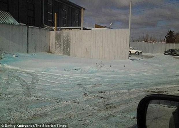 Rusya'da 'mavi kar' görenleri şaşırttı - Page 2