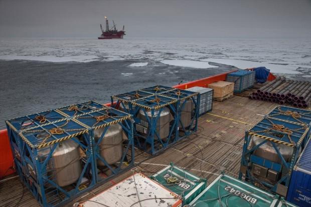 Rusya'nın kutuplardaki ilk petrol platformu görüntülendi - Page 2