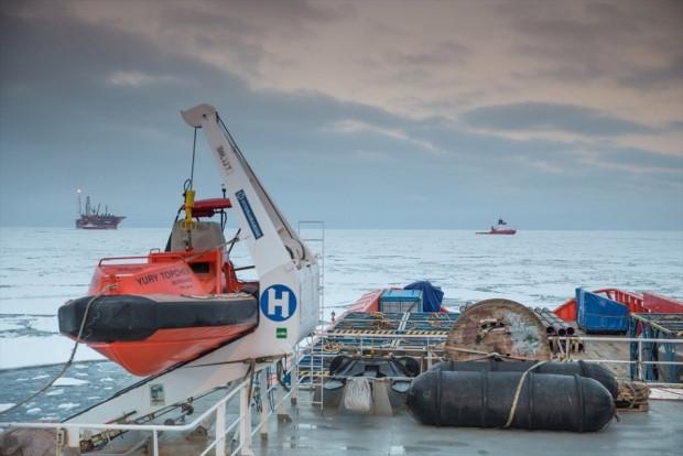 Rusya'nın kutuplardaki ilk petrol platformu görüntülendi - Page 3