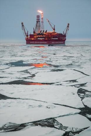 Rusya'nın kutuplardaki ilk petrol platformu görüntülendi - Page 4