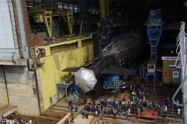 Rusya'nın yeni nükleer denizaltısı Severodvinsk - Page 1