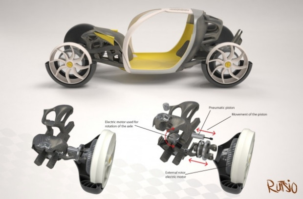 Rutsio geleceğin otomobili oldu! - Page 2
