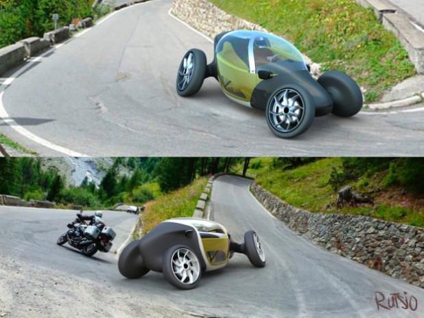 Rutsio geleceğin otomobili oldu! - Page 4