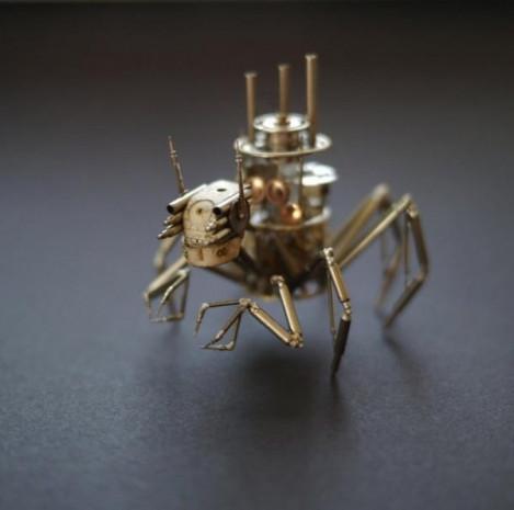 Saatten mekanik böcek - Page 2