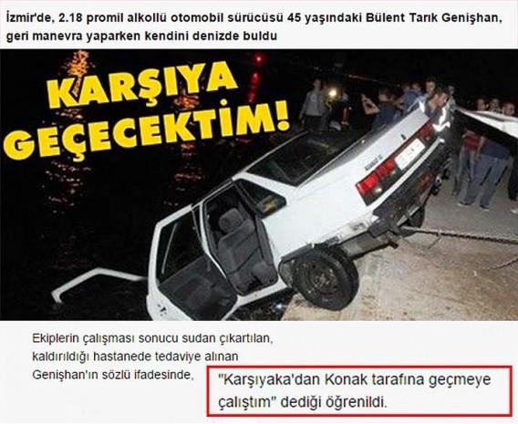 Sadece Türkiye'de gerçek olabilecek fıkra gibi 14 kaza olayı - Page 1