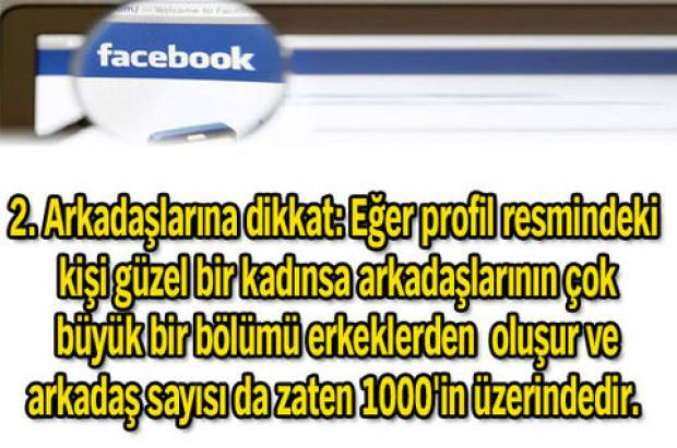 Sahte Facebook profilini nasıl anlarsınız? - Page 1