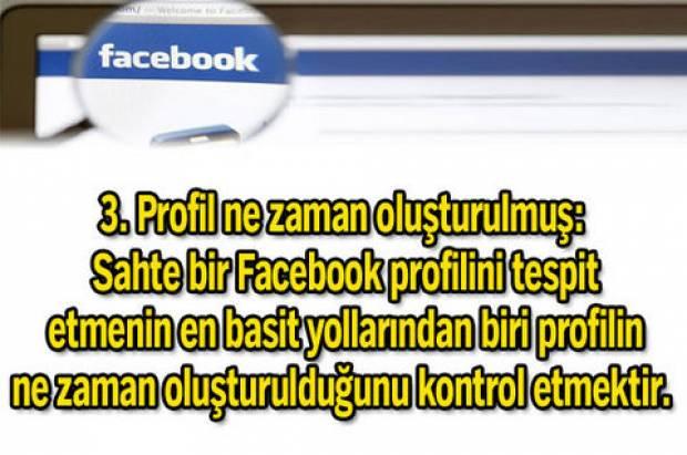 Sahte Facebook profilini nasıl anlarsınız? - Page 3