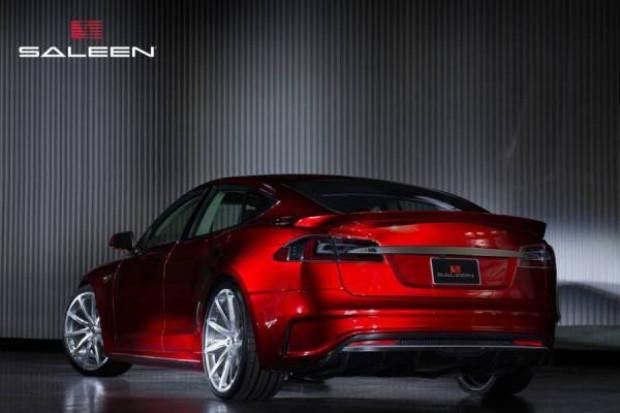 Saleen Tesla Model S basın görselleri - Page 3