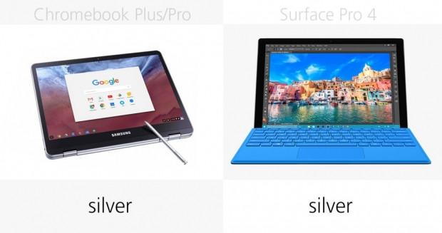 Samsung Chromebook Plus, Pro ve Microsoft Surface Pro 4 karşılaştırma - Page 4