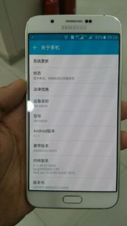 Samsung Galaxy A8 sızdı - Page 3