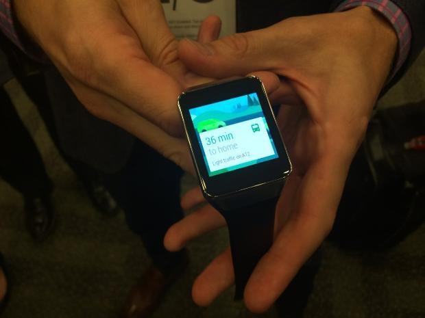 Samsung Galaxy Gear Live hakkında ilk bilgiler - Page 2