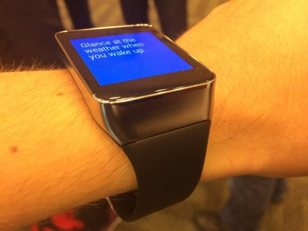 Samsung Galaxy Gear Live hakkında ilk bilgiler - Page 3