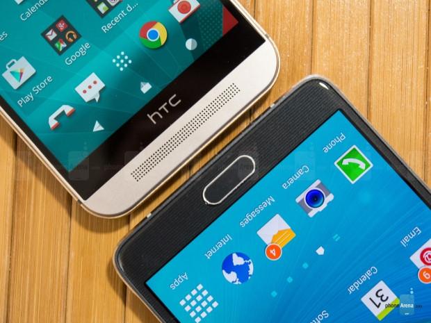Samsung Galaxy Note 4 HTC One M9  hız testi - Page 1