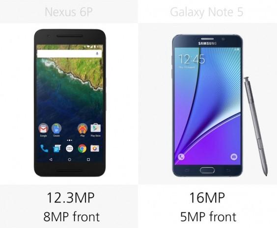 Samsung Galaxy Note 5 ve Nexus 6P karşılaştırma - Page 3