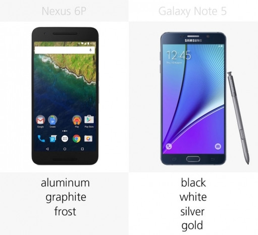 Samsung Galaxy Note 5 ve Nexus 6P karşılaştırma - Page 4