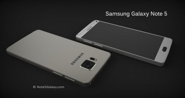 Galaxy Note 5'in mükemmel konsepti - Page 1