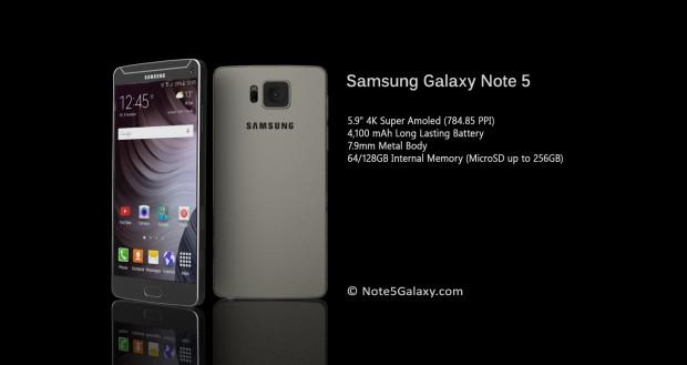 Galaxy Note 5'in mükemmel konsepti - Page 3
