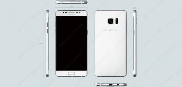 Samsung Galaxy Note 6 Edge ilk bu kadar net göründü - Page 4