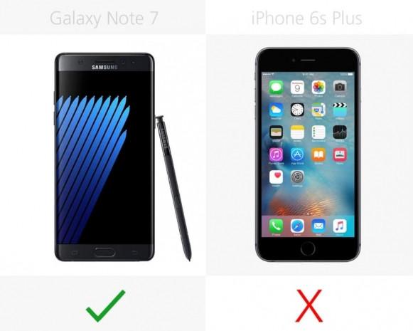 Samsung Galaxy Note 7 ve iPhone 6s Plus karşılaştırma - Page 1