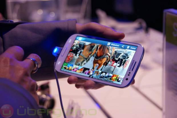 Samsung Galaxy S III'ten ilk görüntüler - Page 1