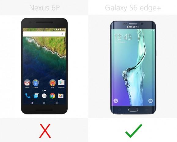 Samsung Galaxy S6 Edge+ ve Nexus 6P karşılaştırma - Page 1