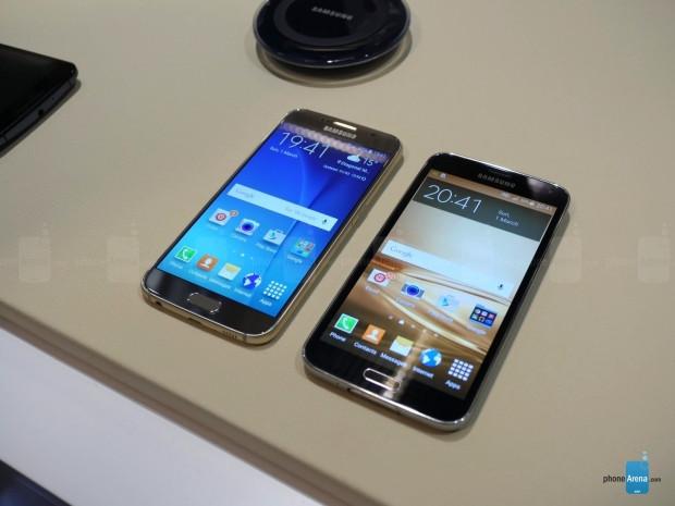 Samsung Galaxy S6 ile Galaxy S5 yanyana! - Page 1