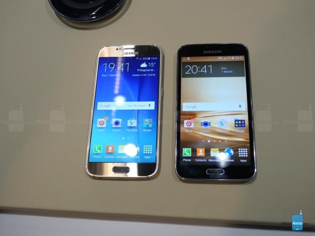 Samsung Galaxy S6 ile Galaxy S5 yanyana! - Page 2