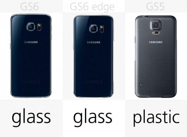 Samsung Galaxy S6, S6 Edge ve S5 karşılaştırması - Page 1