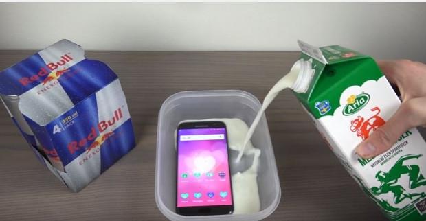 Samsung Galaxy S7 Edge Red Bull ve sütle 4 saat donduruldu - Page 3