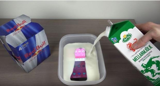 Samsung Galaxy S7 Edge Red Bull ve sütle 4 saat donduruldu - Page 4