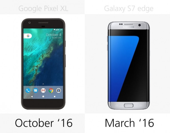 Samsung Galaxy S7 Edge ve Google Pixel XL karşılaştırma - Page 1