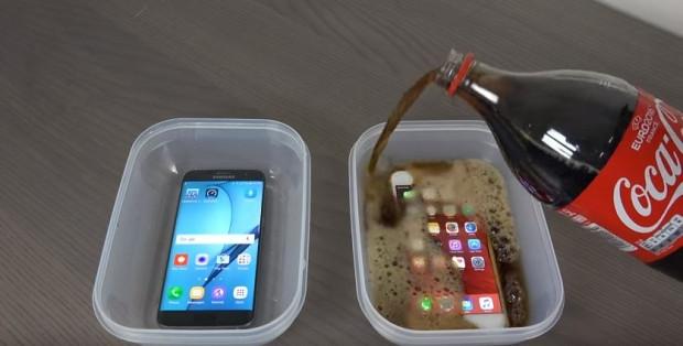 Samsung Galaxy S7 Edge ve iPhone 6S Plus kolanın içinde donduruldu!İşte sonuç - Page 1