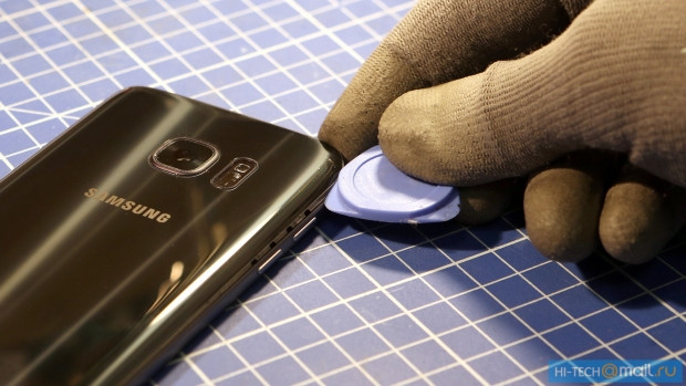 Samsung Galaxy S7 paramparça! - Page 1