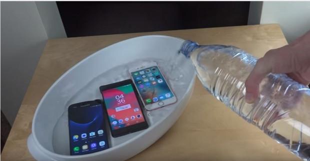 Samsung Galaxy S7, Sony Xperia X ve iPhone 6S 5 saat suda kaldı - Page 4