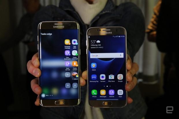 Samsung Galaxy S7 ve S7 Edge duvar kağıtları - Page 2