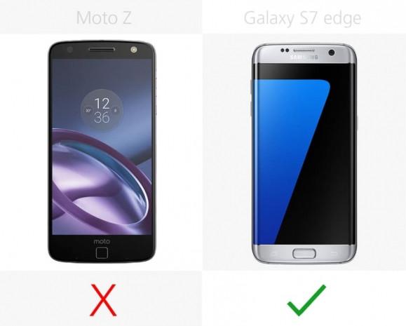 Samsung Galaxy S7 Edge ve Moto Z karşılaştırma - Page 1