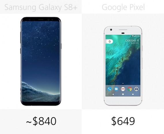 Samsung Galaxy S8 + ve Google Pixel inceleme - Page 1