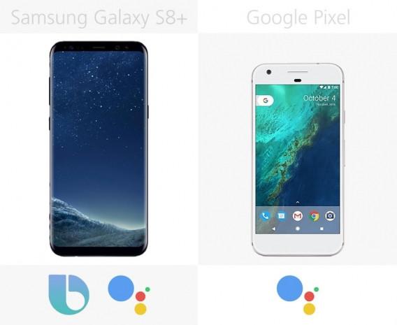 Samsung Galaxy S8 + ve Google Pixel inceleme - Page 4