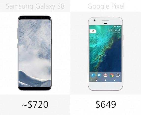 Samsung Galaxy S8 ve Google Pixel karşılaştırma - Page 1
