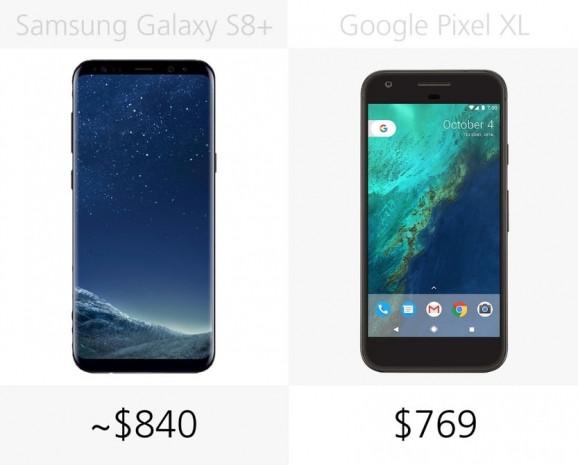 Samsung Galaxy S8 + ve Google Pixel XL karşılaştırma - Page 1
