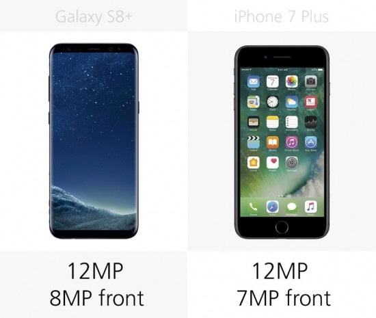 Samsung Galaxy S8 + ve iPhone 7 Plus karşılaştırma - Page 4