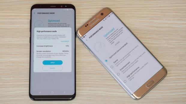Samsung Galaxy S8 + ve S7 Edge performans test sonuçları - Page 1