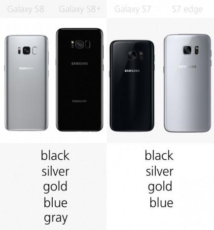 Galaxy S8 ve S8+ ile Galaxy S7 ve S7 Edge karşılaştırma - Page 4